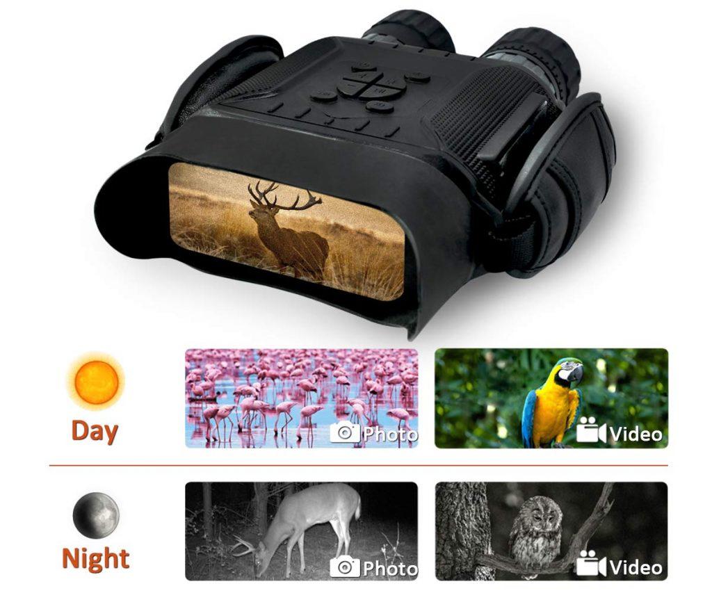 Bestguarder Night Vision Binocular NV-900  VS WildGuarder OWLER1 Review 2